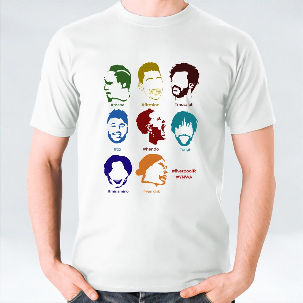 LFC Faces All-In-One T-Shirts