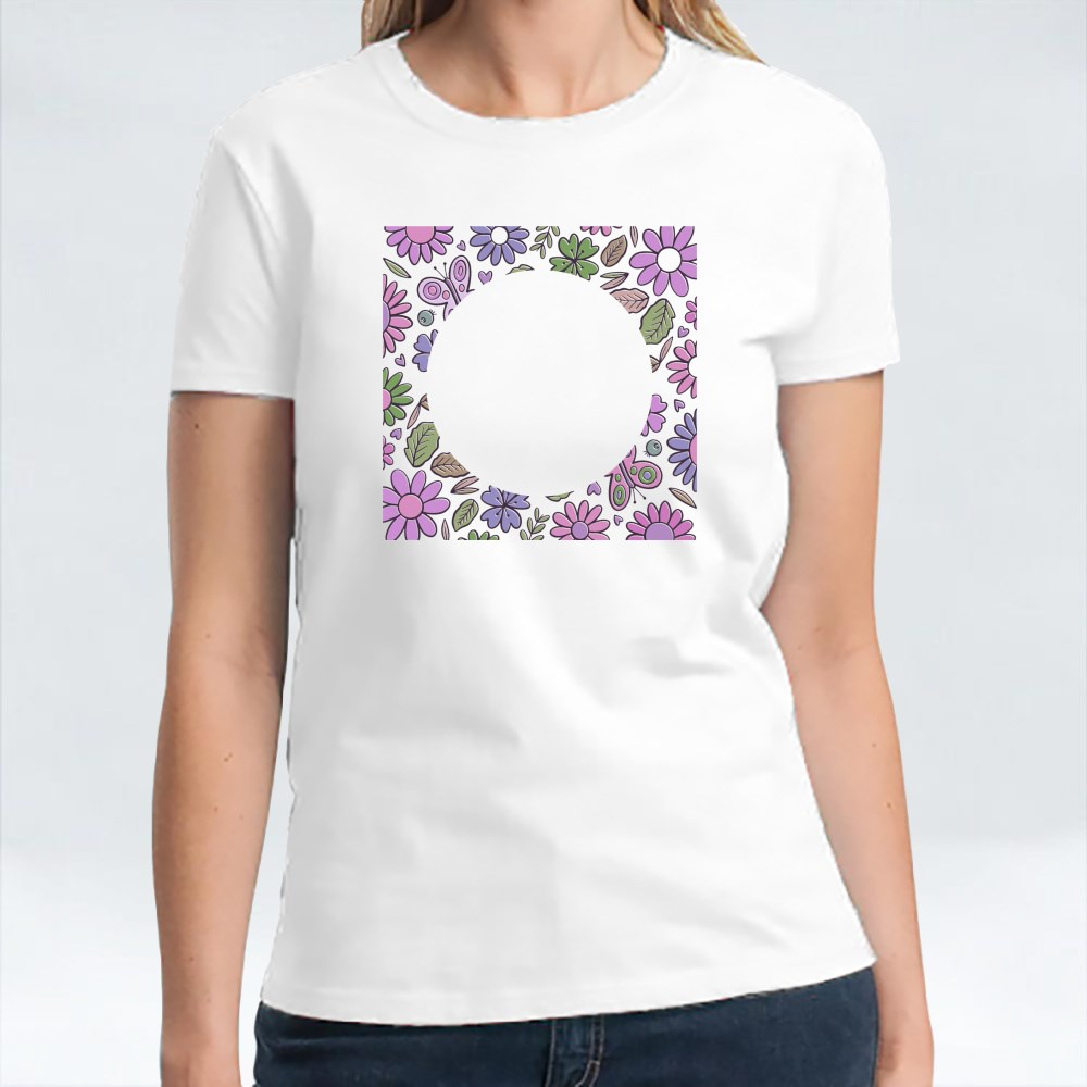 Butterfly Flowers T-Shirts