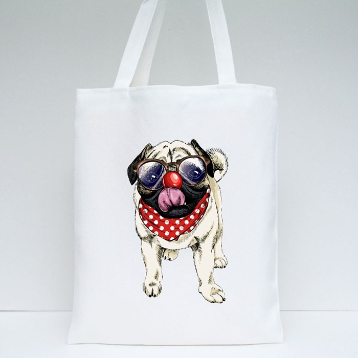 Red Nose Tote Bags