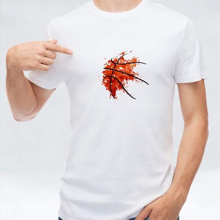 Abstract Basketball Background T-Shirts