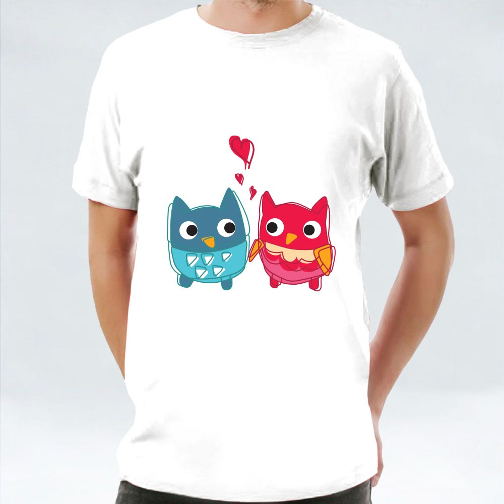 Owl Lovers With Emotions T-Shirts