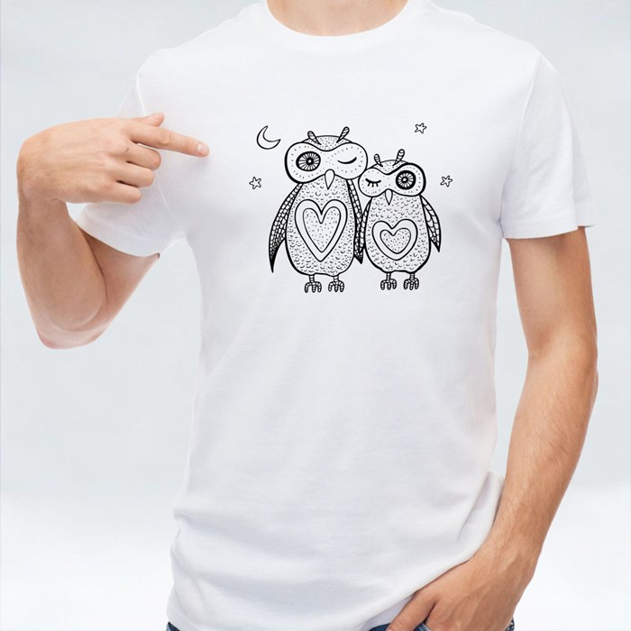 Decorative  Owls T-Shirts