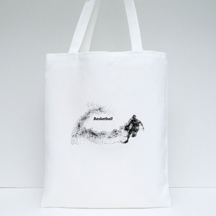 Basketball Player Particle Style 2 Tote Bags