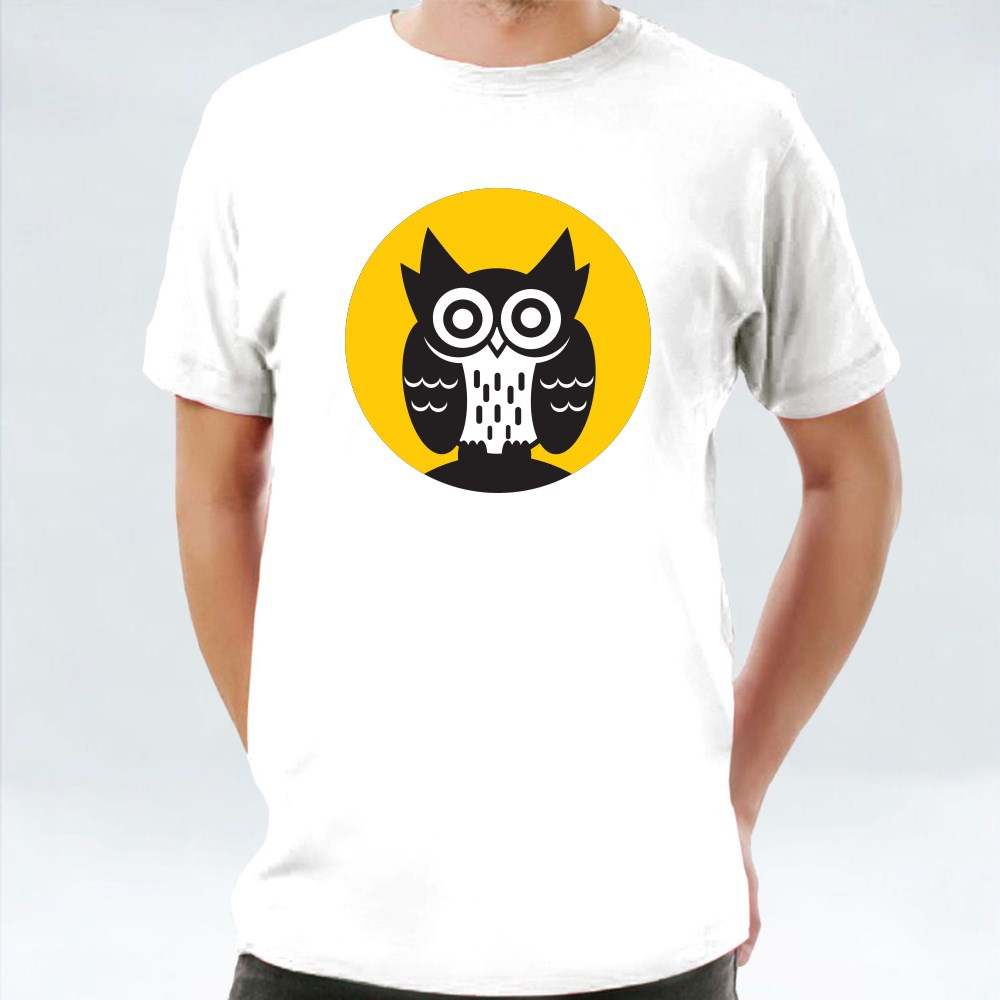 Owl On Moon T-Shirts