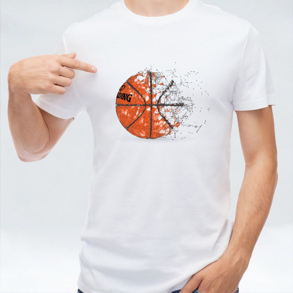 Silhouette Of A Basketball T-Shirts