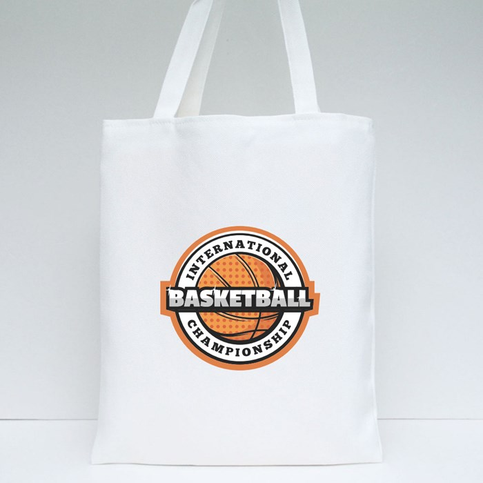 Basketball Sports Game Collection Tote Bags