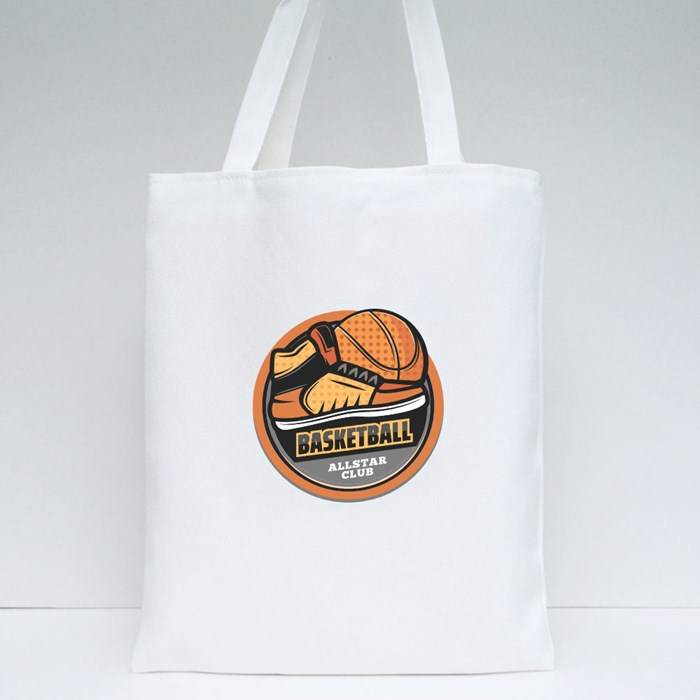 Basketball Sports Game Collection 7 Tote Bags