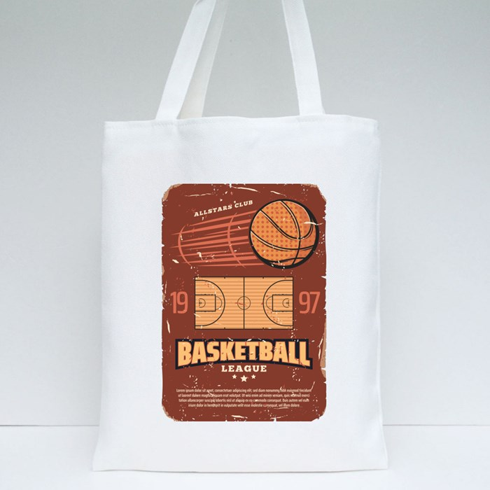 Basketball Championship Card Collection 2 Tote Bags