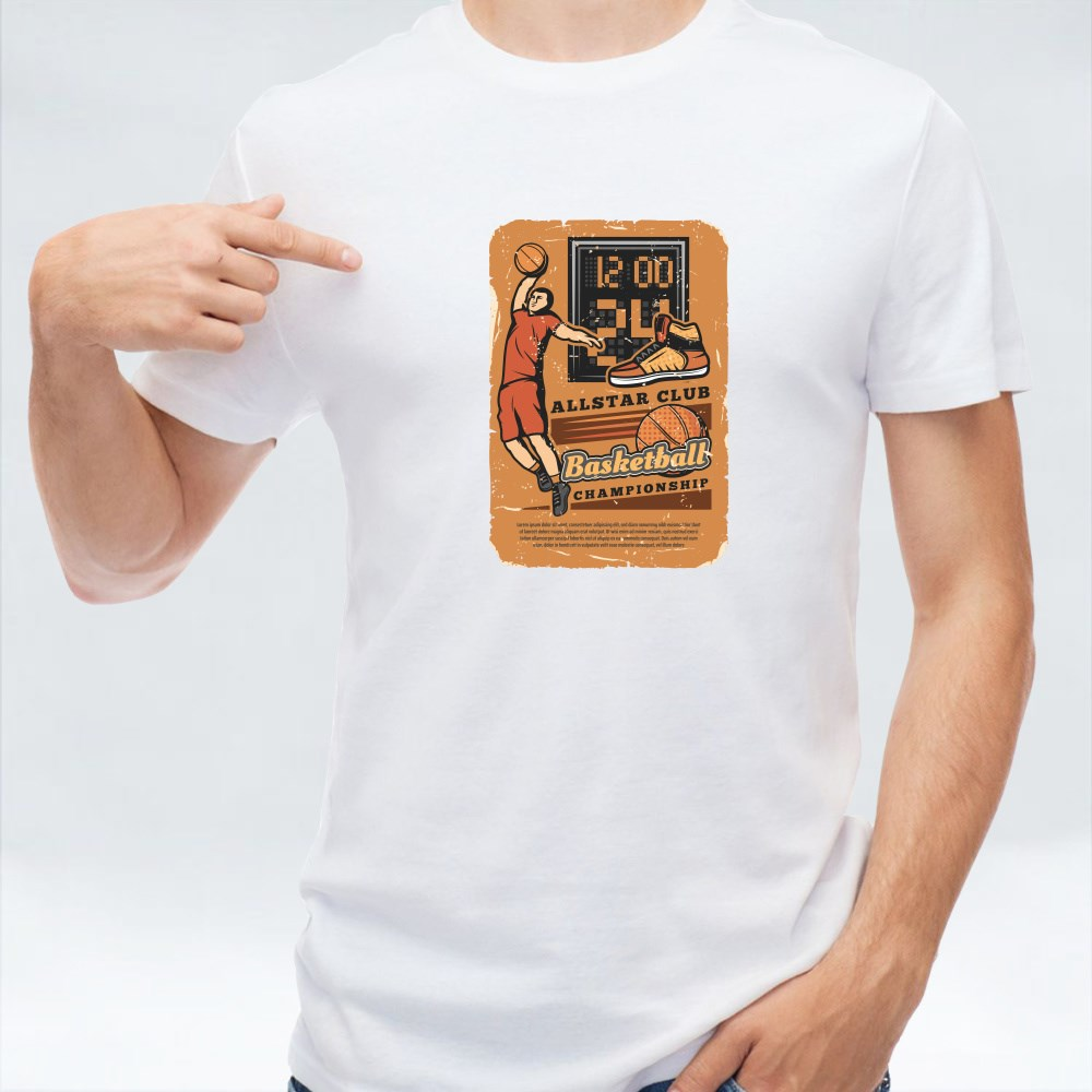 Basketball Championship Card Collection 4 T-Shirts