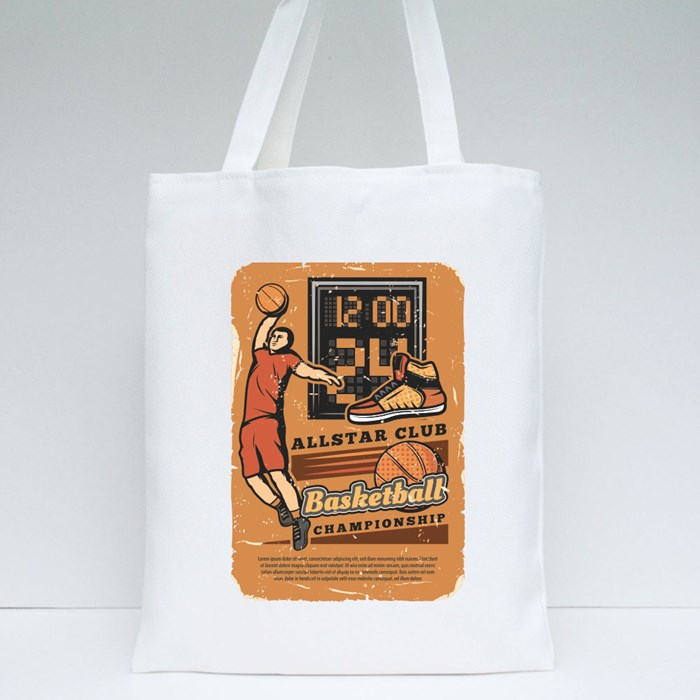 Basketball Championship Card Collection 4 Tote Bags