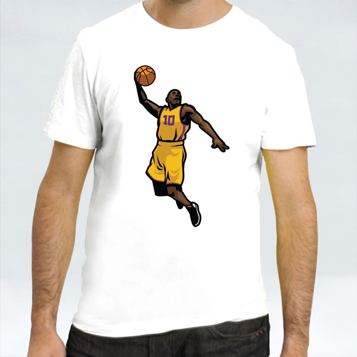 Basketball Players in Different Pose 2 T-Shirts