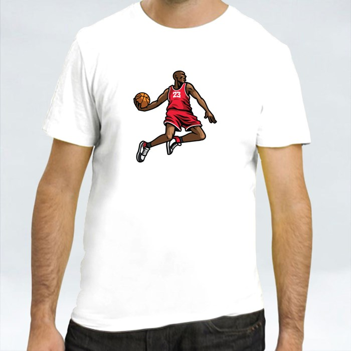 Basketball Players in Different Pose 3 T-Shirts