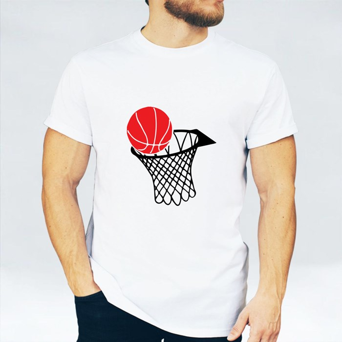 Basketball and Rim Icon 1 T-Shirts
