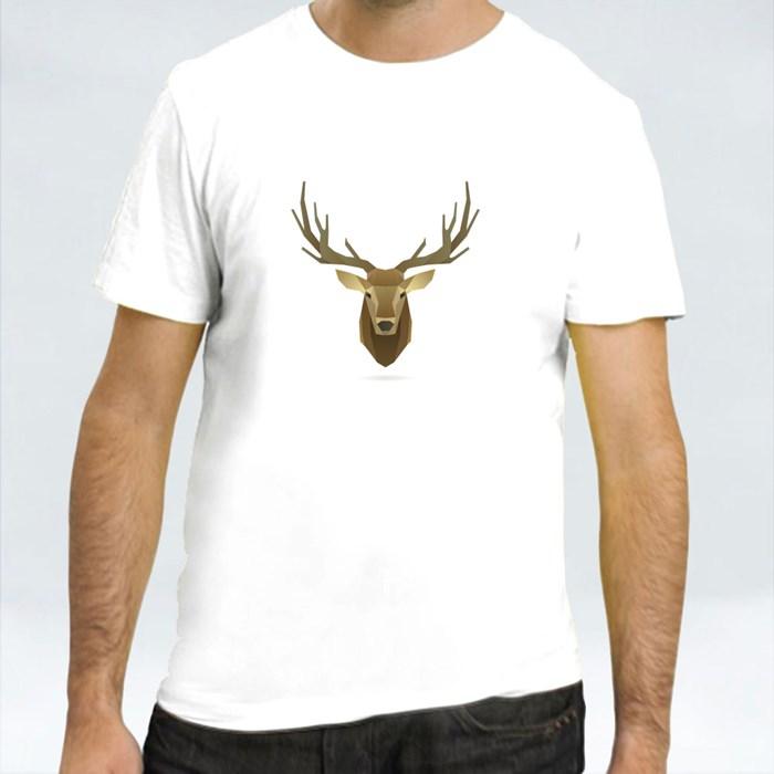 Deer Head Portrait T-Shirts