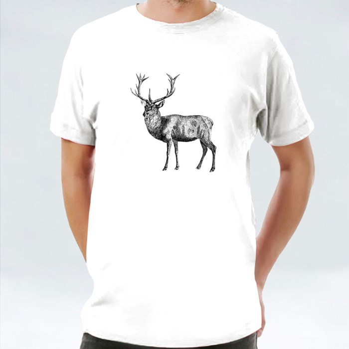 Drawing of Red Deer T-Shirts