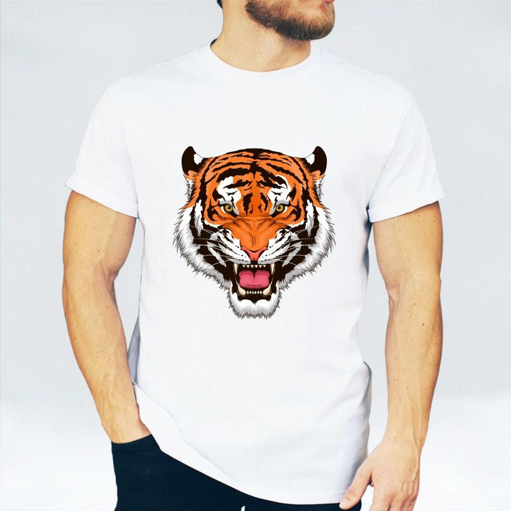 Stylized Roaring Tiger T-Shirts