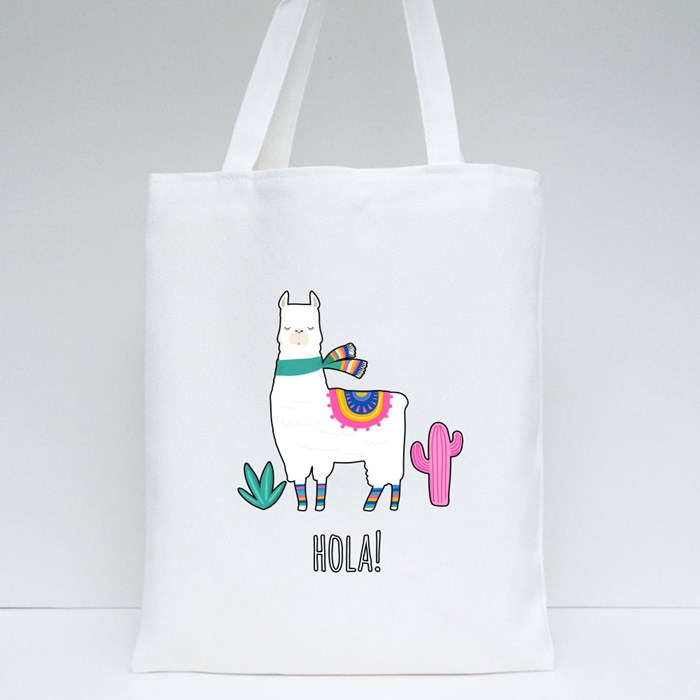 Llama Collection 4 Tote Bags
