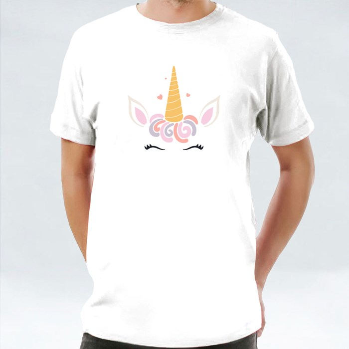 Cute Funny Unicorn Face Deco 6 T-Shirts