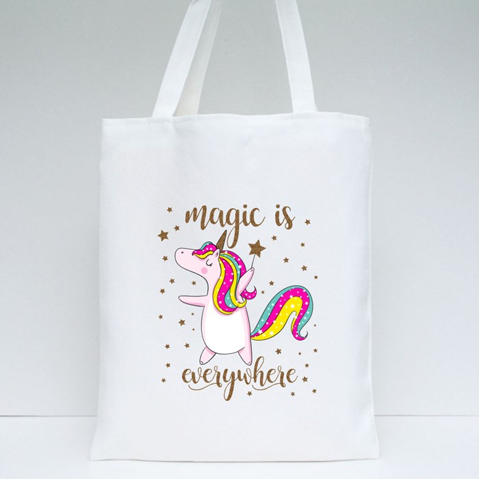 Unicorn Magic Is Anywhere Tote Bags