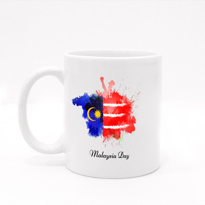 Malaysia in Dependence Day Colour Mugs