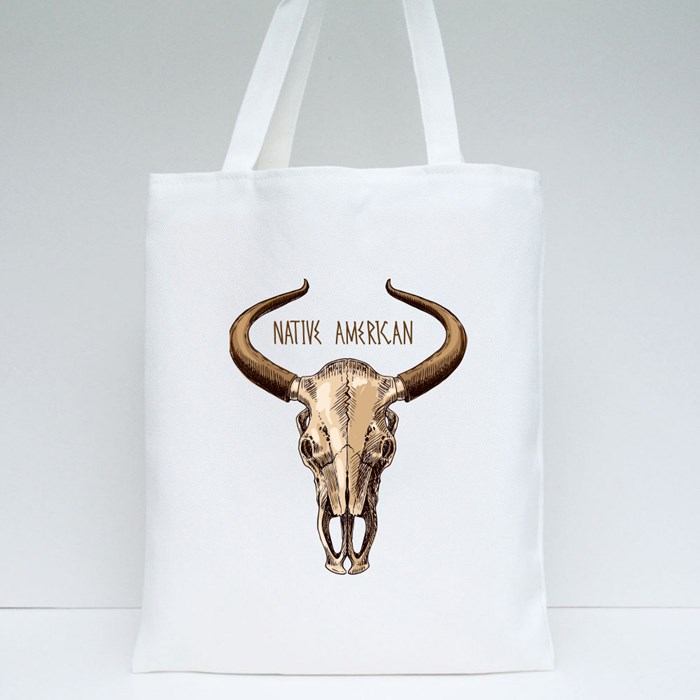 American Indian Equipment Sketches 2 Tote Bags