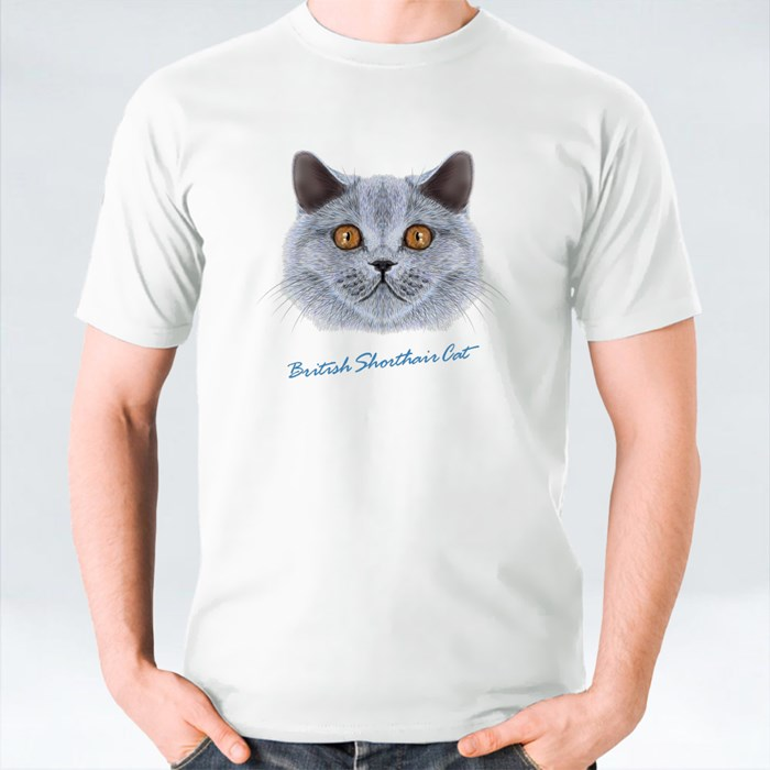 British Shorthair Cat T-Shirts