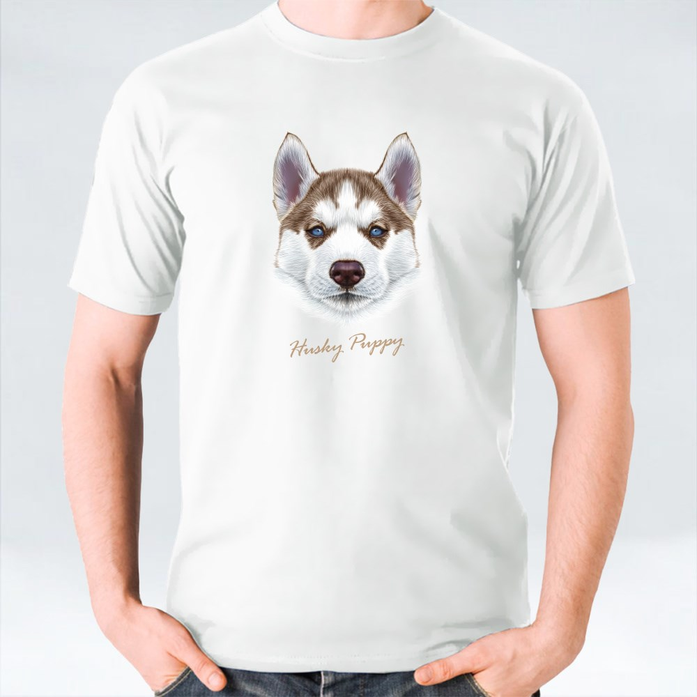 Husky Puppy T-Shirts