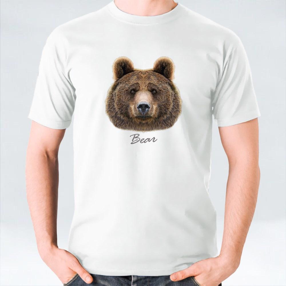 Big Bear Of North America and Eurasia T-Shirts