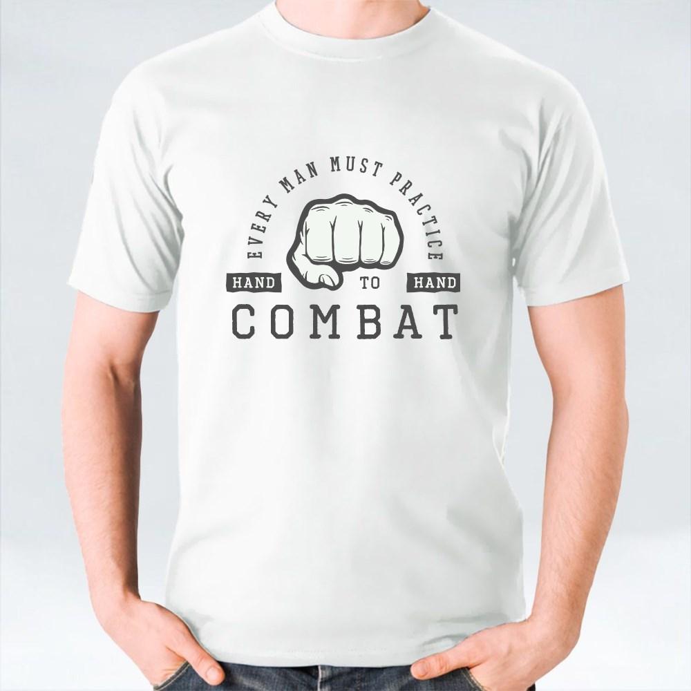 Motivation Slogan and Fist (1) T-Shirts