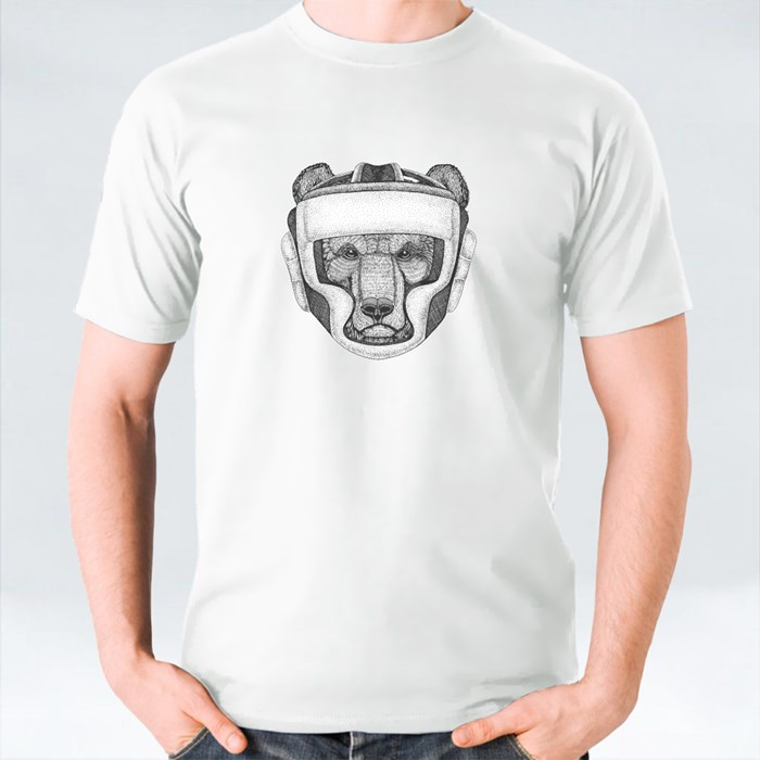 Brown Bear Boxing Champion T-Shirts