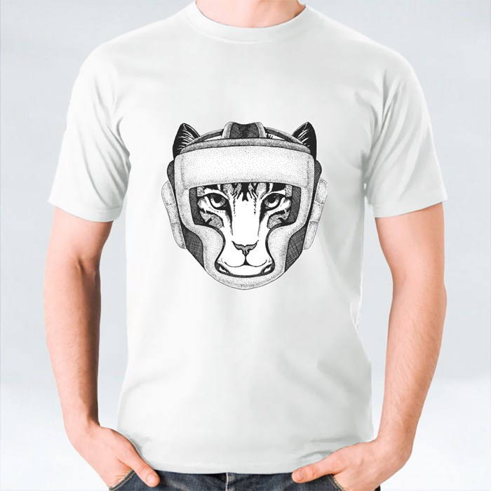 Cat Boxing Champion T-Shirts