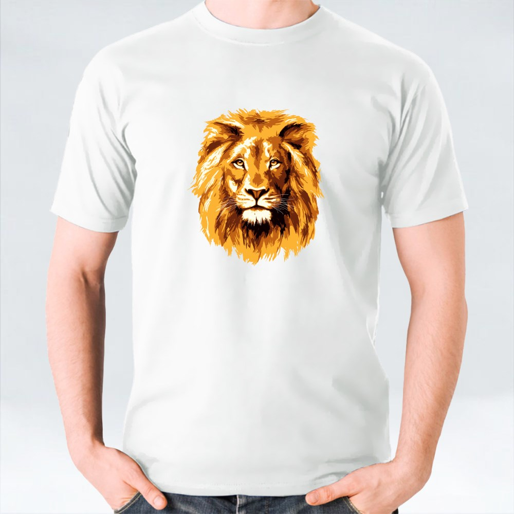 Big Fiery Lion T-Shirts