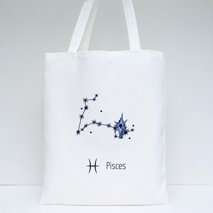 Zodiac Sign All Horoscope 12 Tote Bags