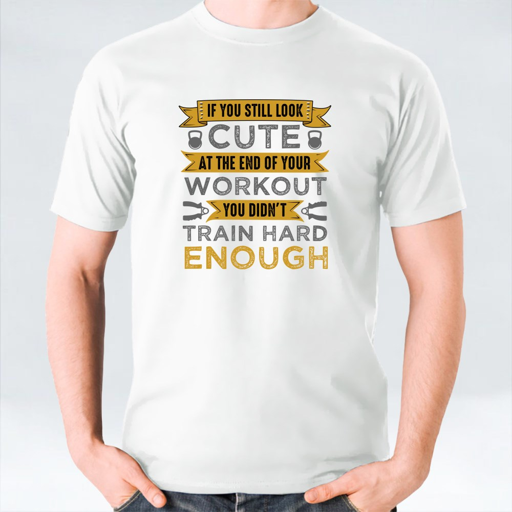 Gym Fitness Qute and Saying T-Shirts