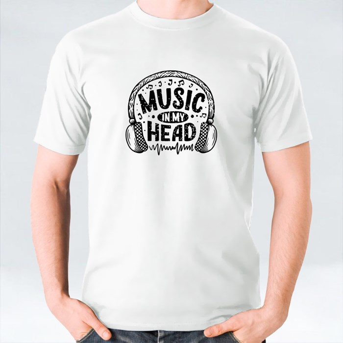 Music in My Head T-Shirts