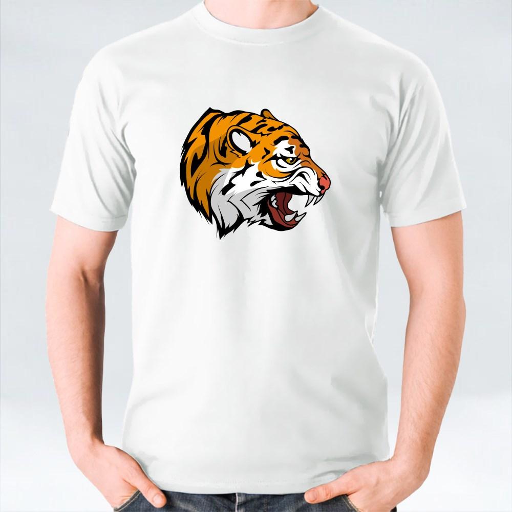 Tiger Vector Set 5 T-Shirts