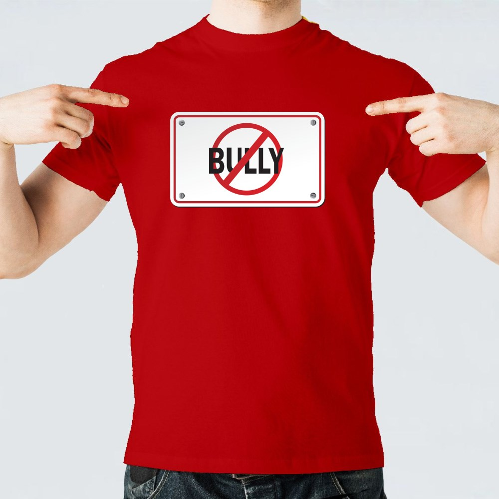 Stop Bully Signs T-Shirts