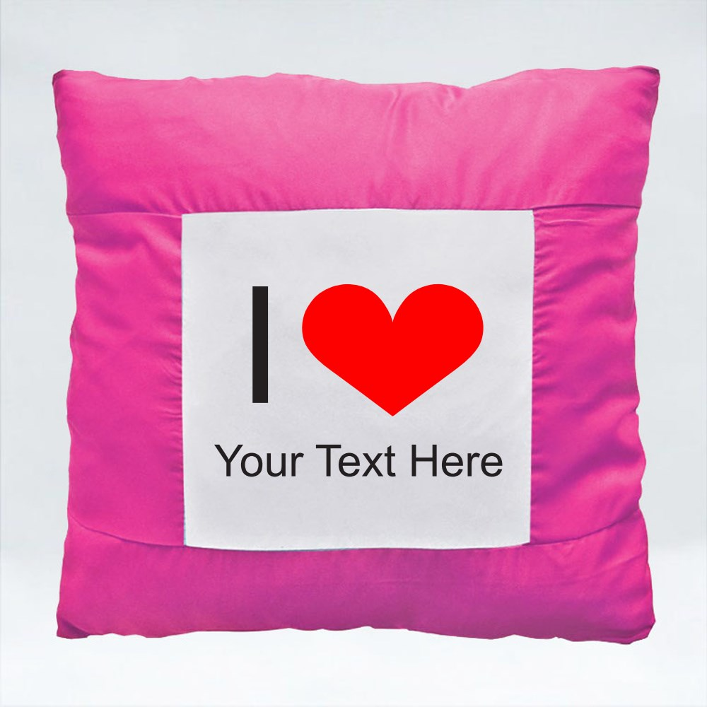 Cushions > Cushions (Square) > I Love (your text)