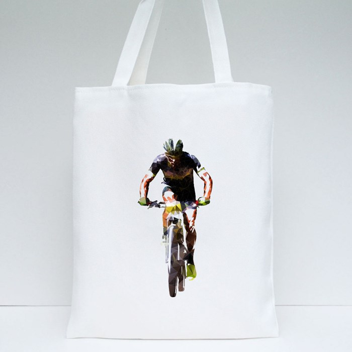 Mountain Cycling Tote Bags