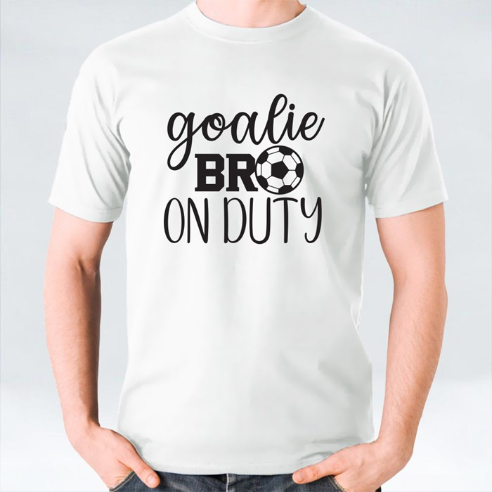 Goalie Brother on Duty T-Shirts