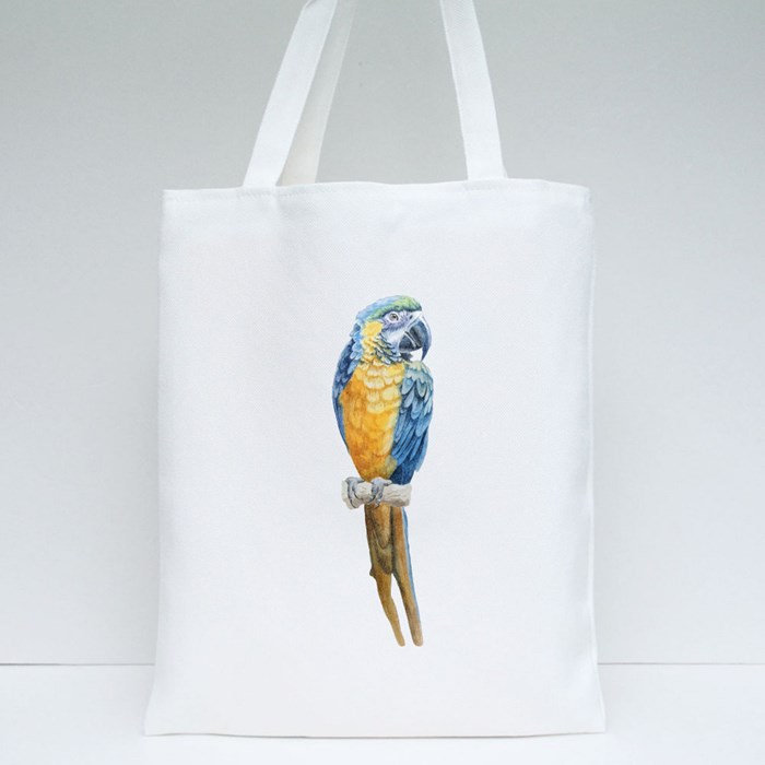 Two Parrot Macaw 2 Tote Bags