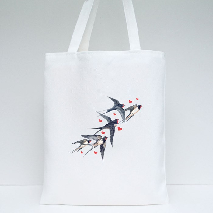 Pack Swallow Tote Bags