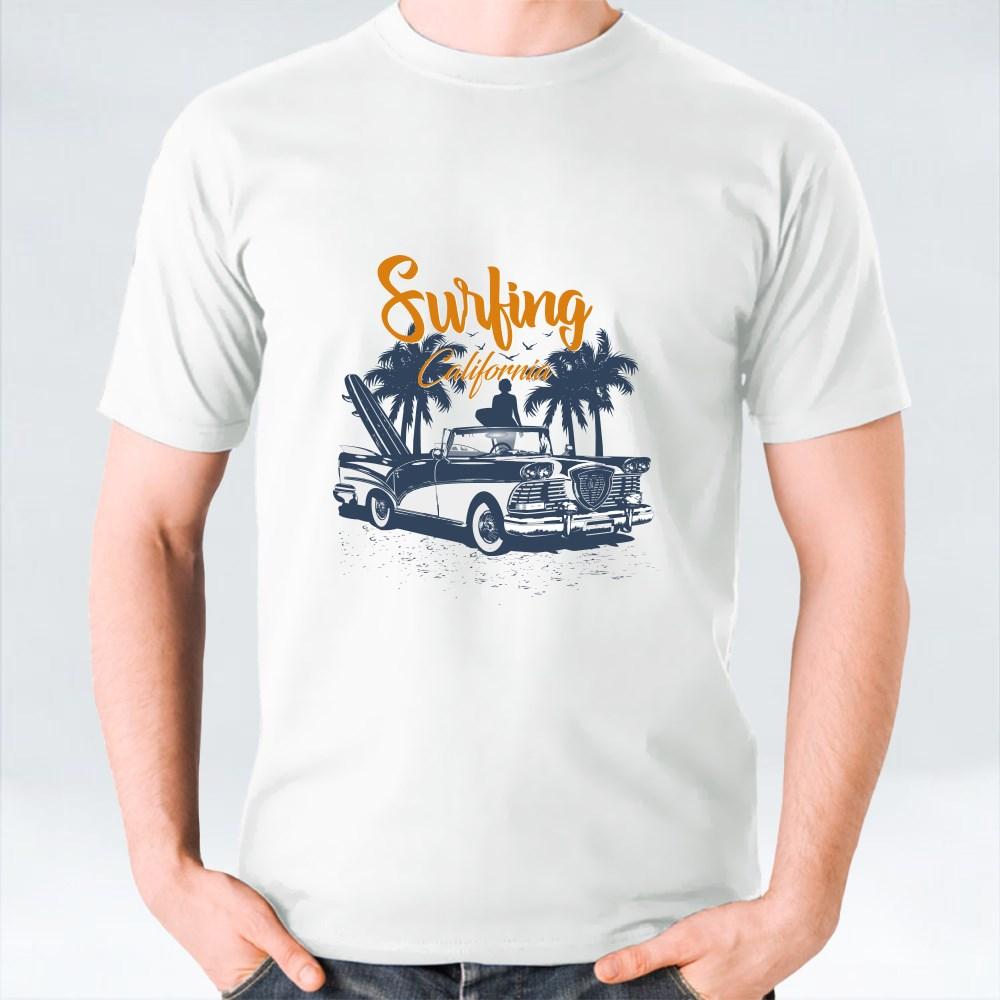 Surfing California T-Shirts