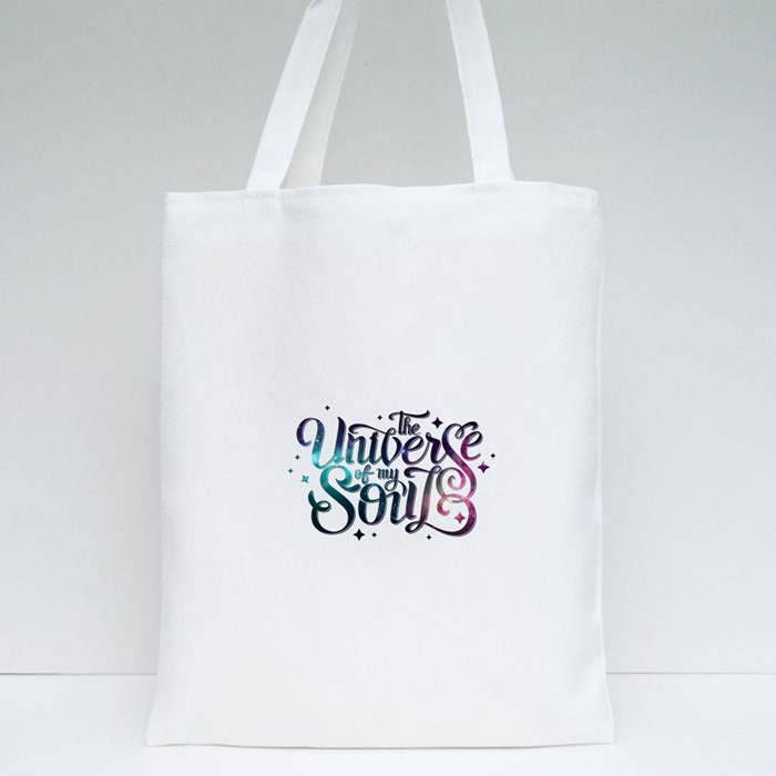 The Universe of My Soul Tote Bags