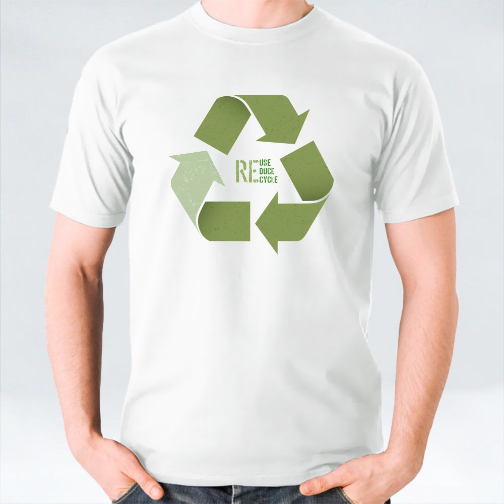 Reuse Recycle Reduce Conceptual Symbol T-Shirts