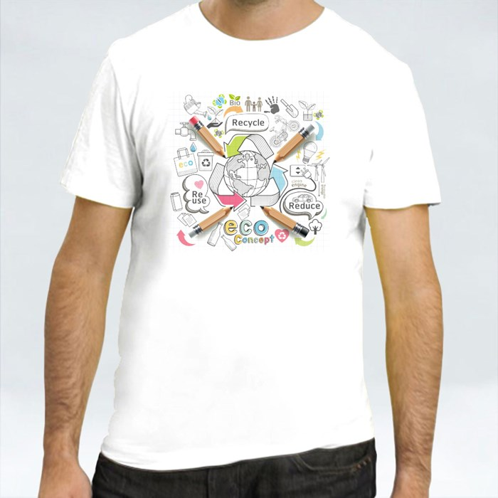 Reuse Recycle Reduce Eco Doodle T-Shirts