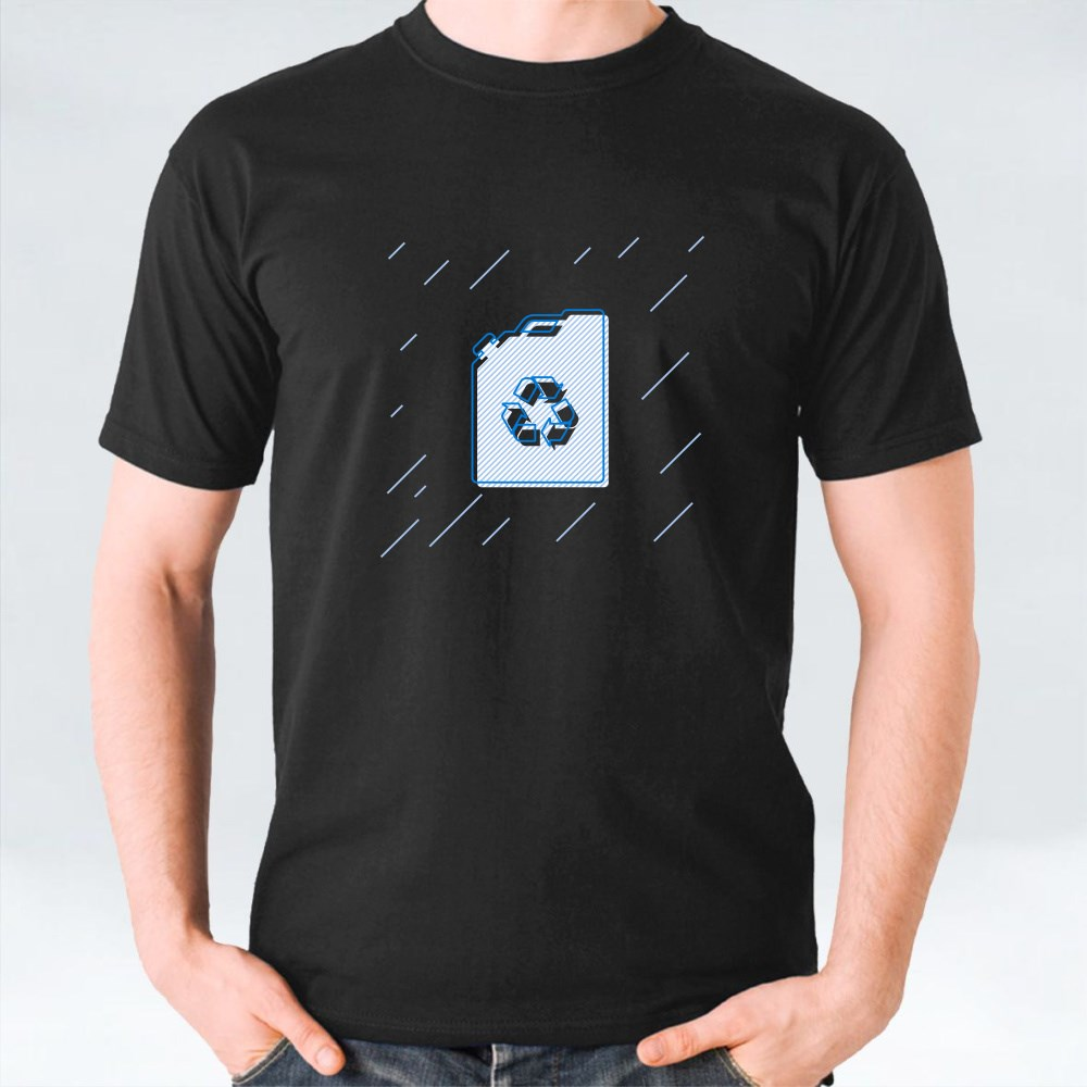 Canisterline Bottle Icon T-Shirts