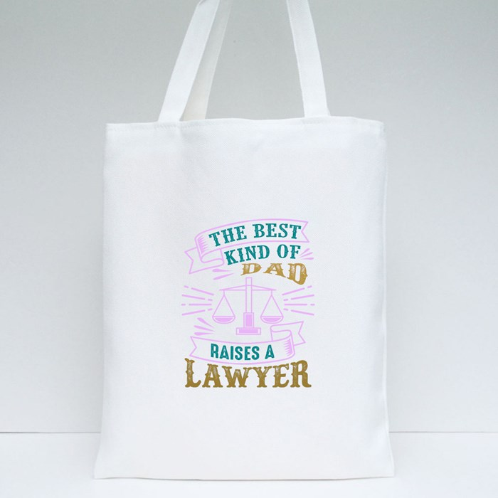Lawyer Father Tote Bags
