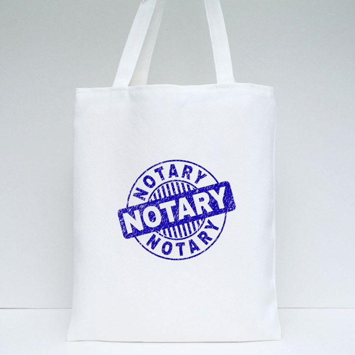 Notary Stamp2 Tote Bags