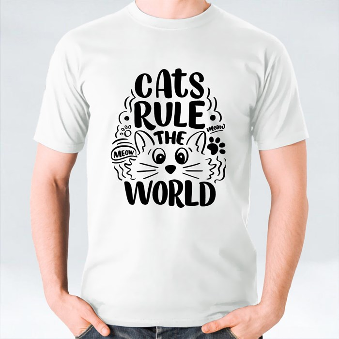 Cat Rule the World T-Shirts